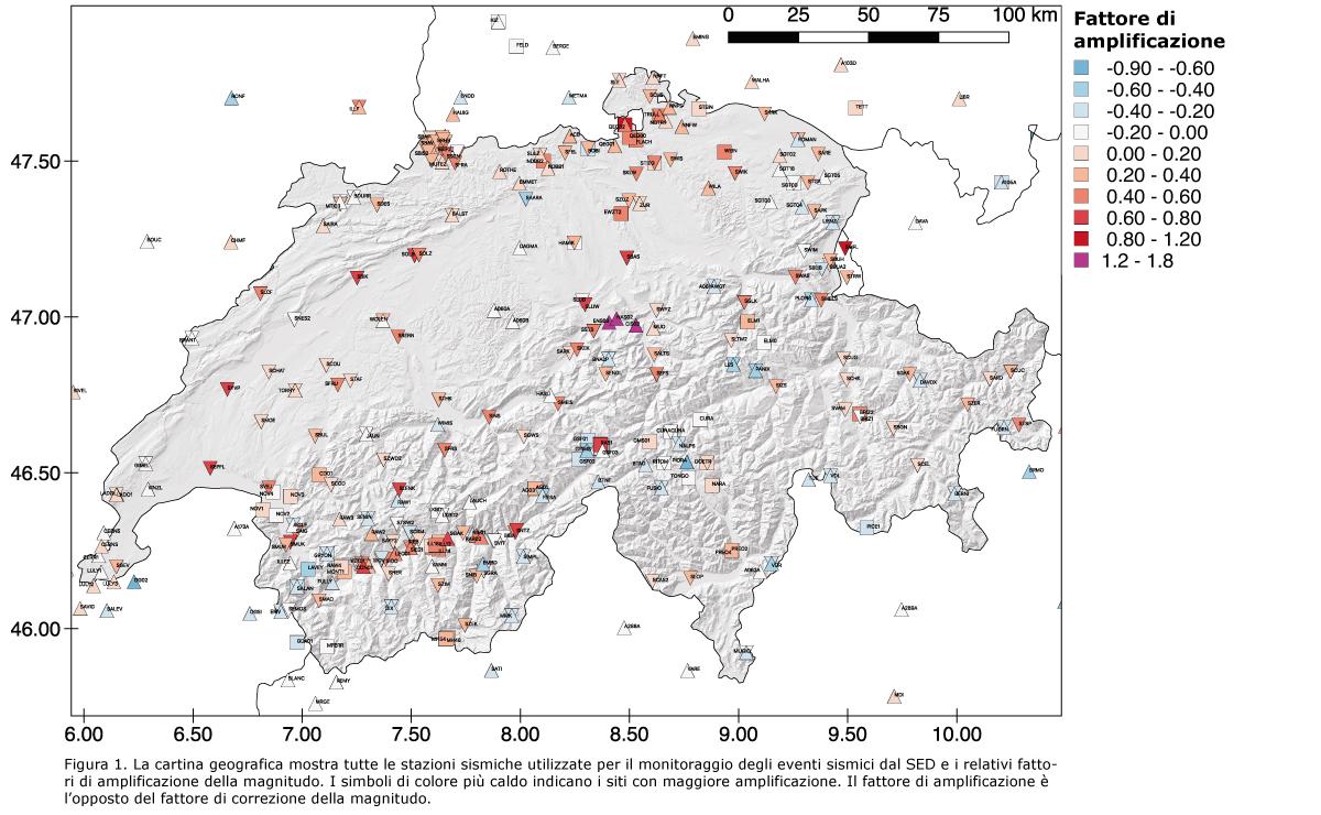 La Cartina Geografica Della Svizzera.Sed Pagina Iniziale