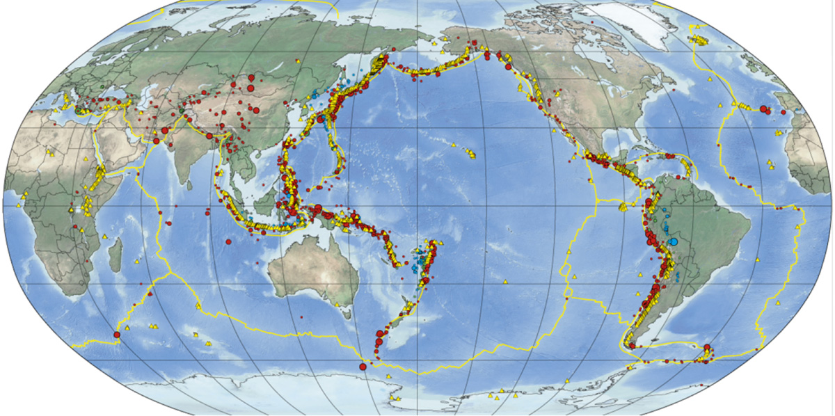 Earthquakes in the Data Mountain