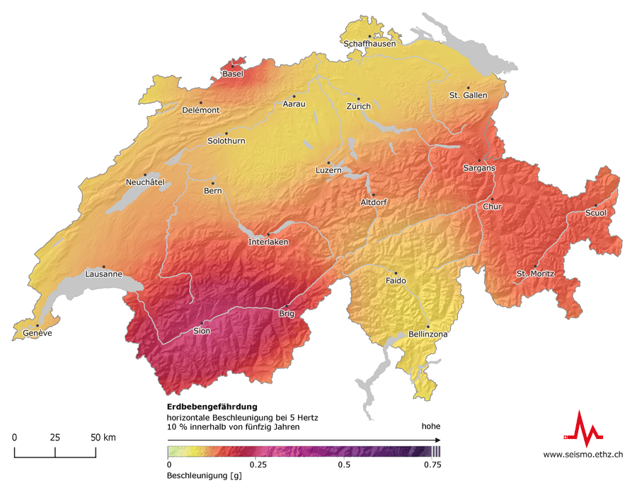 Seismic Hazard Switzerland