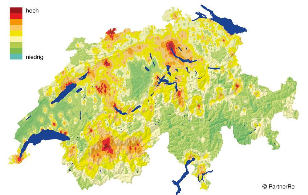 SED | Rischio sismico Svizzera