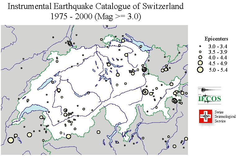 Instrumental Earthquake Catalogue of Switzerland