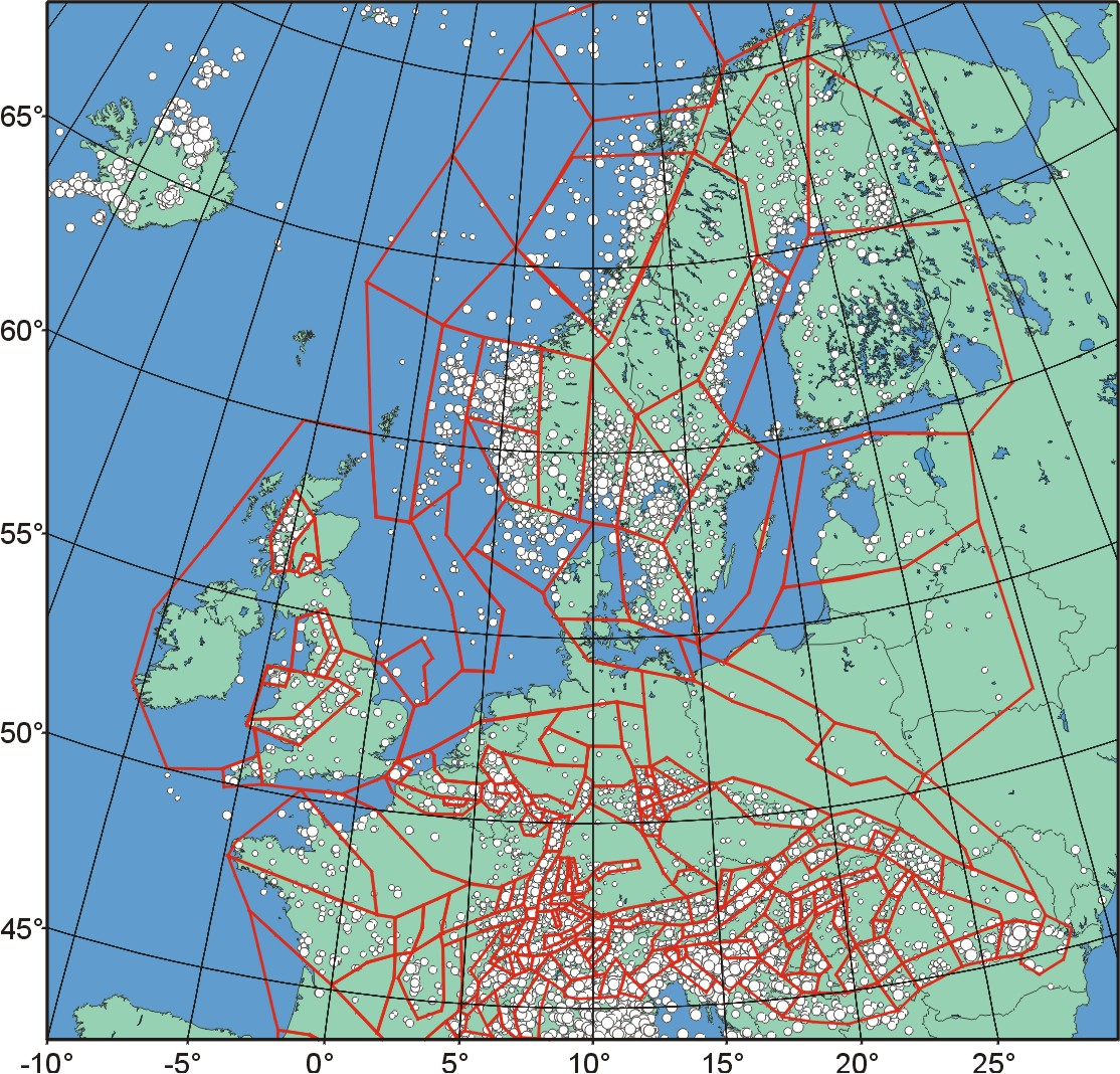 Seismic Hazard Assessment for Central, North and Northwest Europe ...
