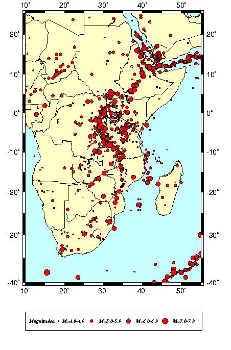 SEISMIC HAZARD ASSESSMENT IN EASTERN AND SOUTHERN AFRICA
